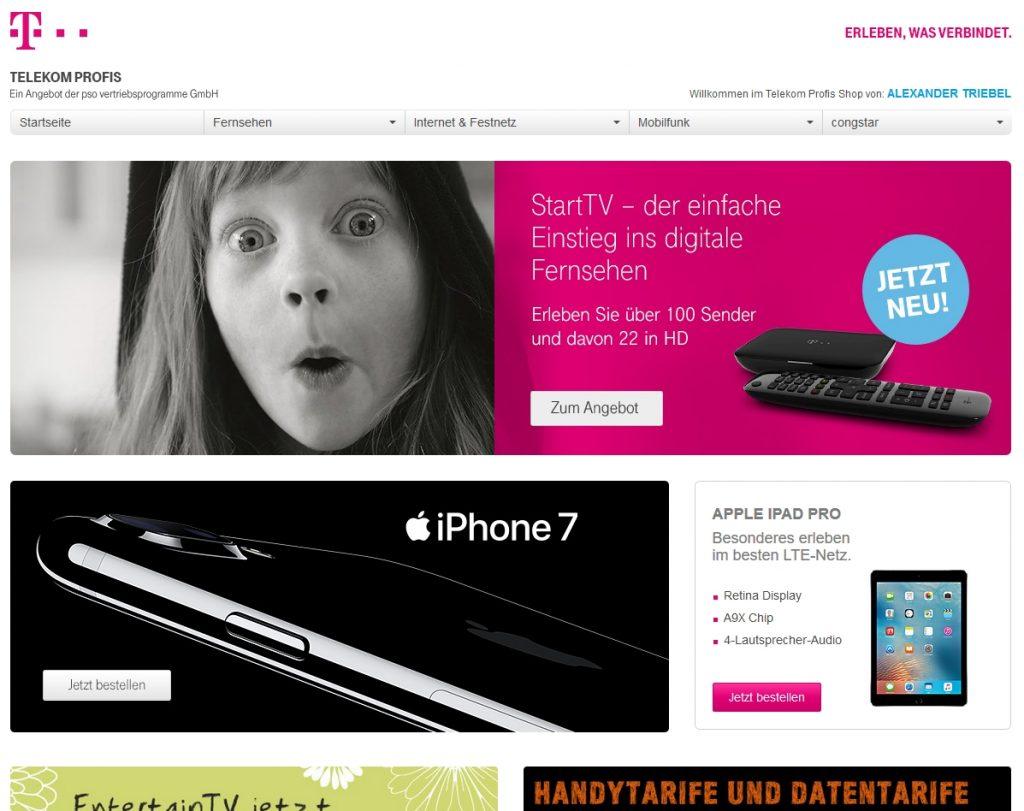 Telekom Online-Shop